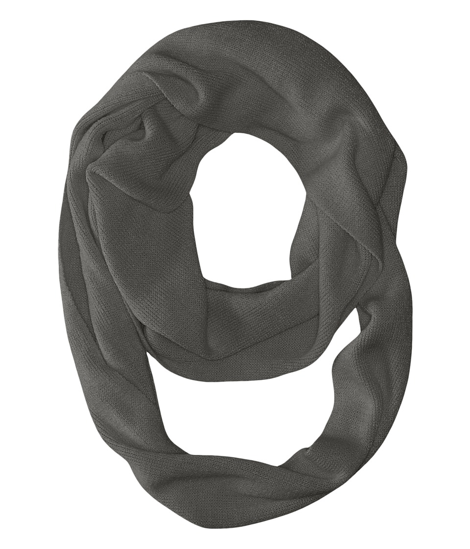 Coal - The Julietta Eternity Scarf (Charcoal) Scarves