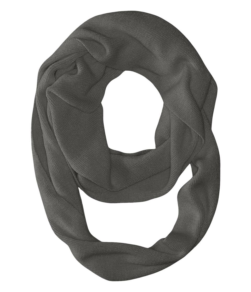 Coal - The Julietta Eternity Scarf (Charcoal) Scarves