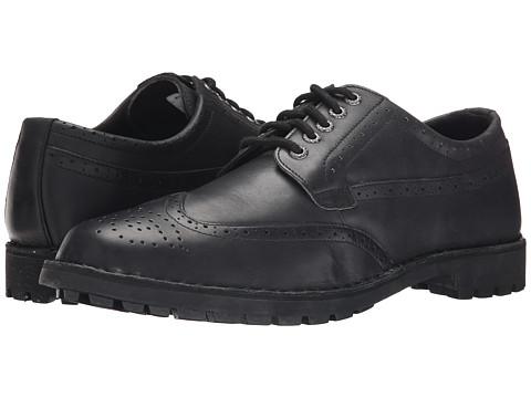 Sebago - Metcalf Wing Tip (Black Leather) Men