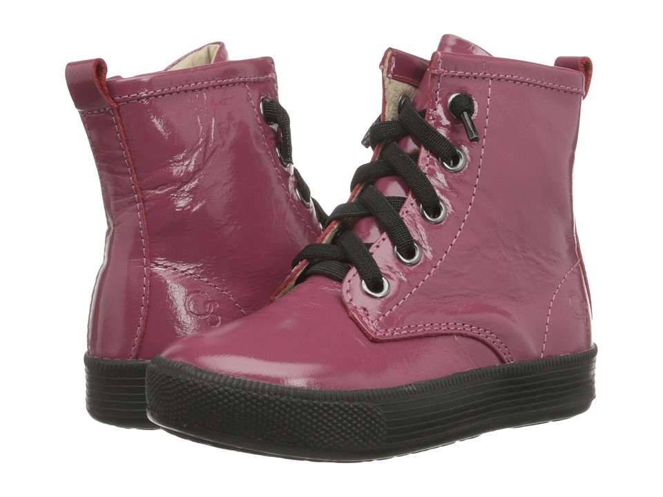 Old Soles - Swag High Top (Toddler/Little Kid) (Fuchsia Patent) Kids Shoes