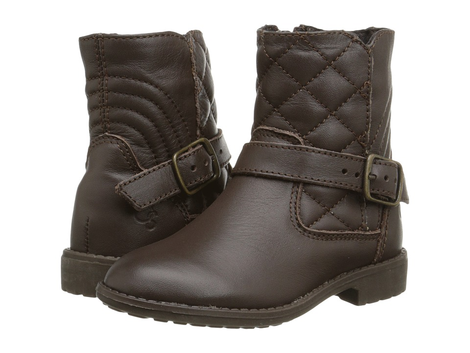 Old Soles - Boot Swag (Toddler/Little Kid) (Brown) Girls Shoes