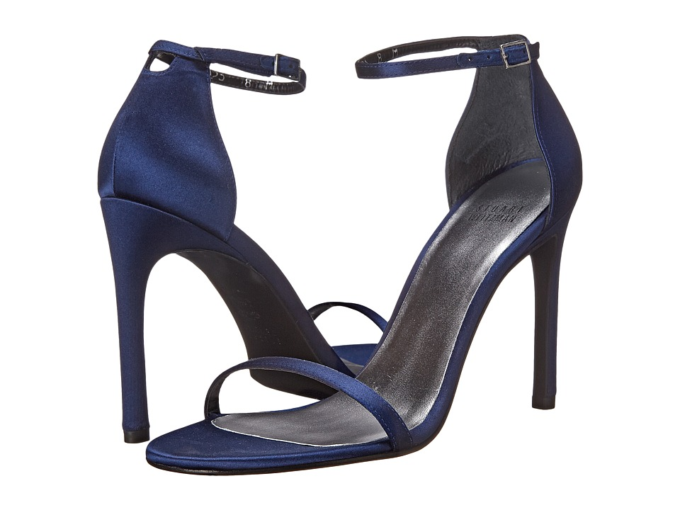 Stuart Weitzman Bridal & Evening Collection - Nudistsong (Midnight Satin) High Heels