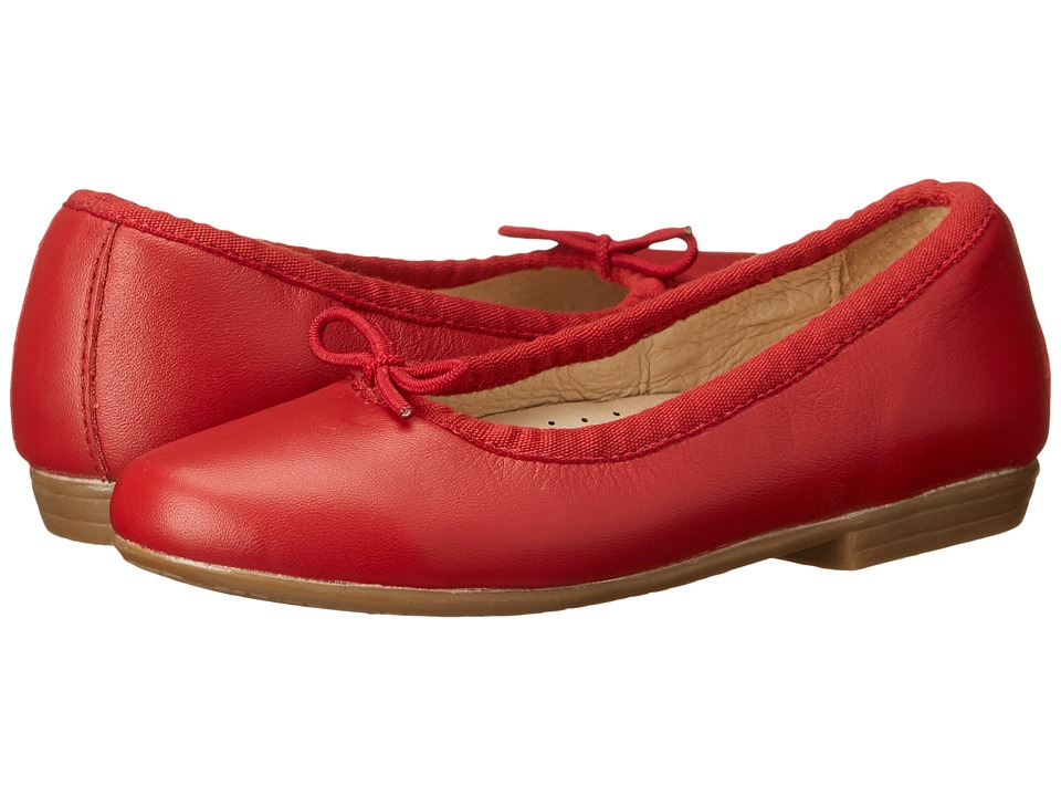 Image of Old Soles - Brule Shoe (Toddler/Little Kid) (Red) Girl's Shoes
