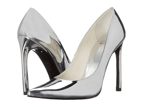 Stuart Weitzman - Queen (Silver Specchio) High Heels