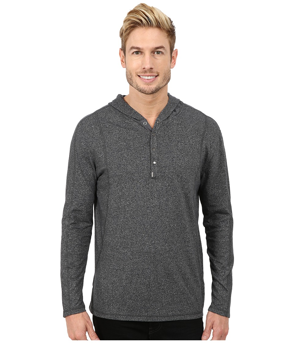 Calvin Klein Jeans - Sleek Hoodie (Moon Mist Heather) Men's Sweatshirt