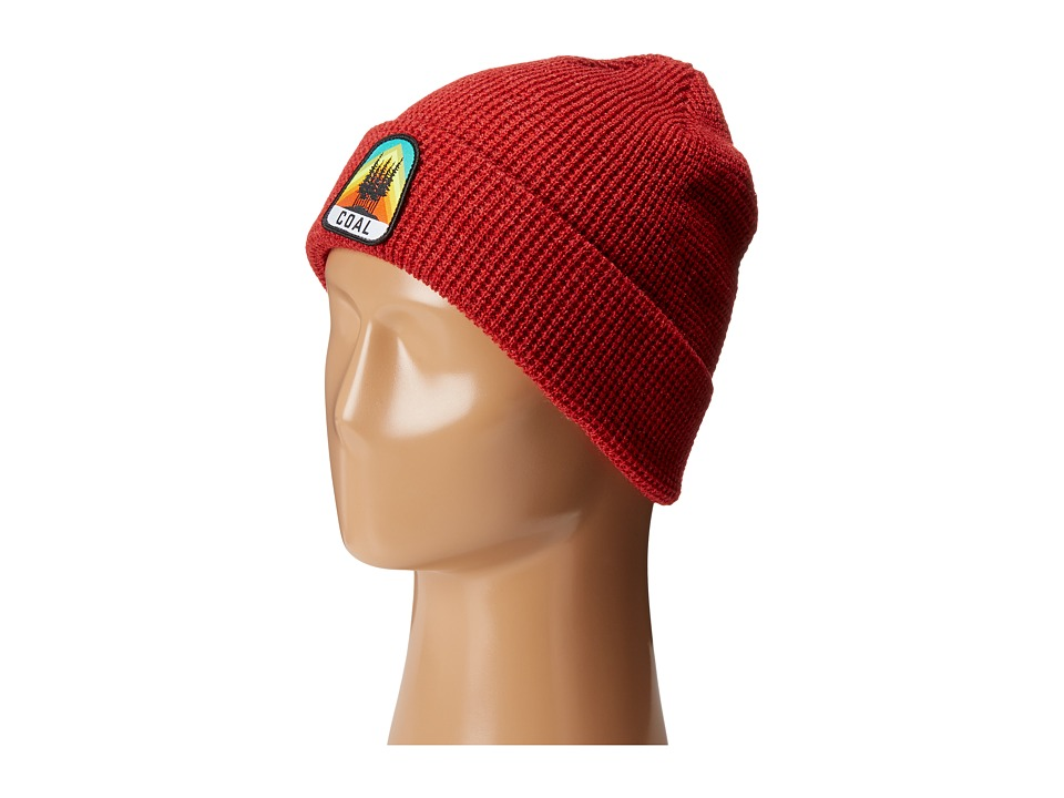 Coal - The Summit Beanie (Heather Red) Beanies