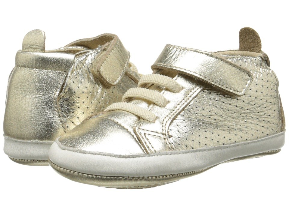 Old Soles - Cheer Bambini (Infant/Toddler) (Gold/White) Girl's Shoes