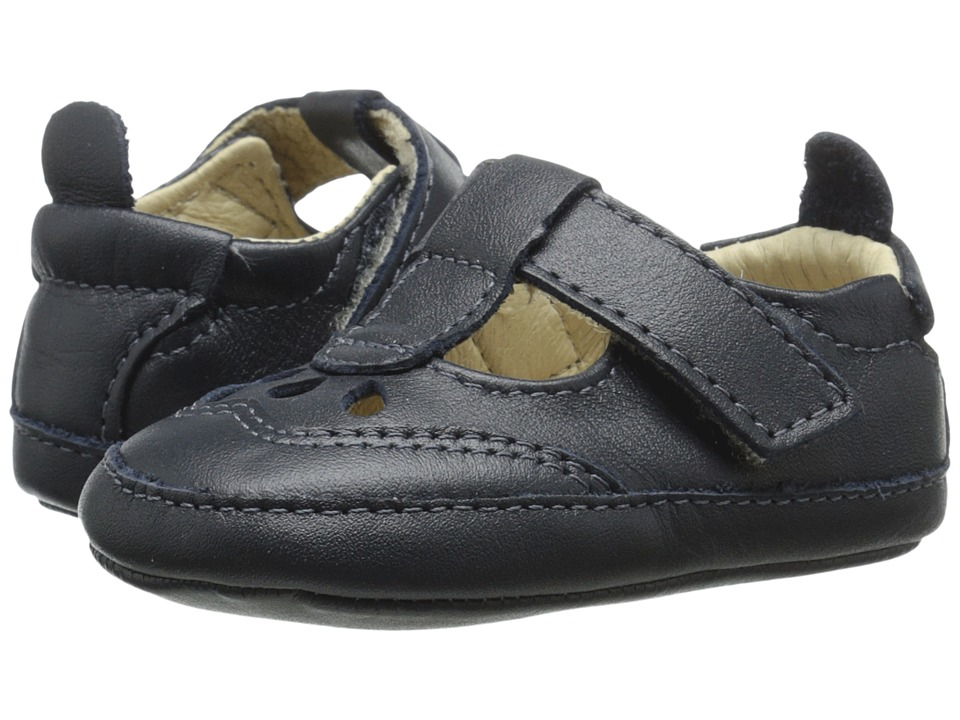 Old Soles - Petite Petal (Infant/Toddler) (Navy) Girl's Shoes