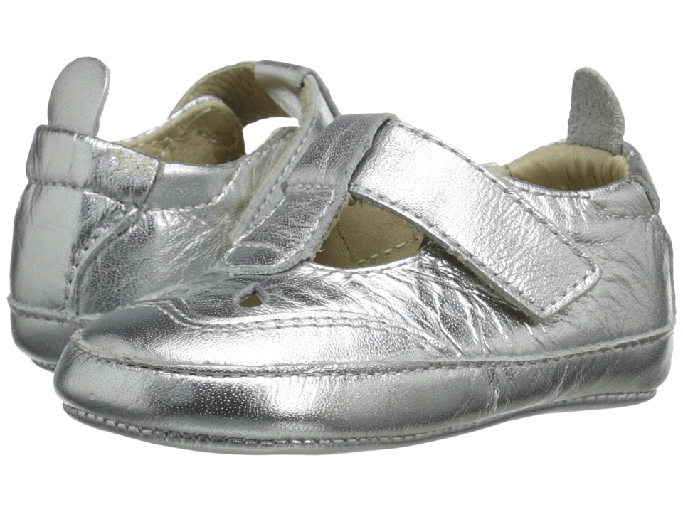 Old Soles - Petite Petal (Infant/Toddler) (Silver) Girl's Shoes