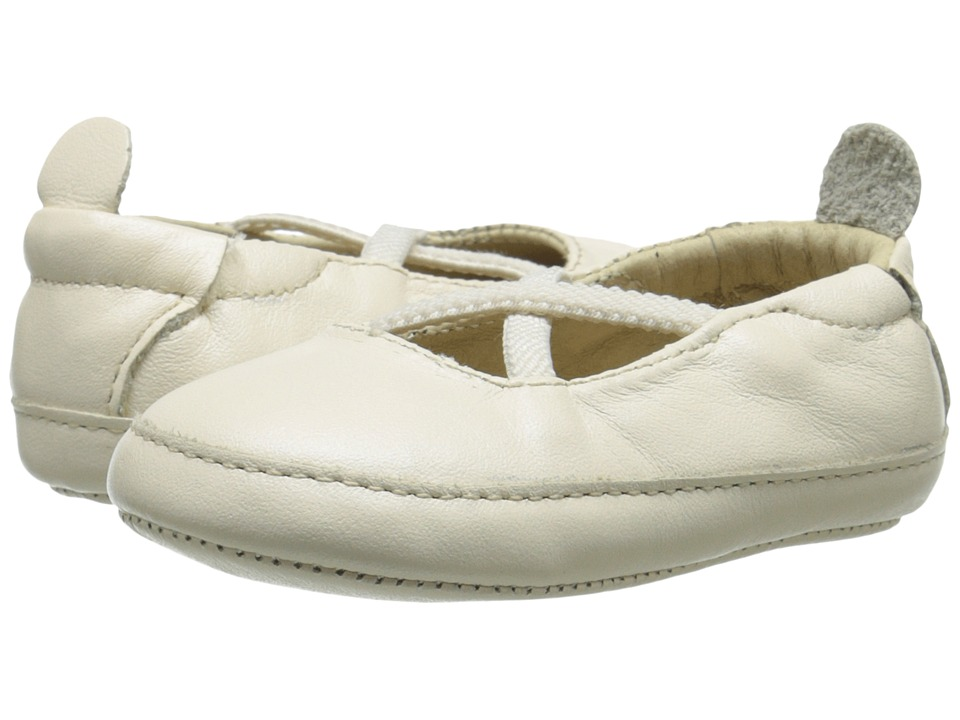 Old Soles - Ballet Cross (Infant/Toddler) (Pearl Metallic) Girl's Shoes