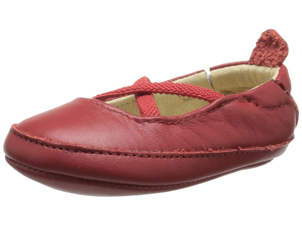 Old Soles - Ballet Cross (Infant/Toddler) (Red) Girl's Shoes