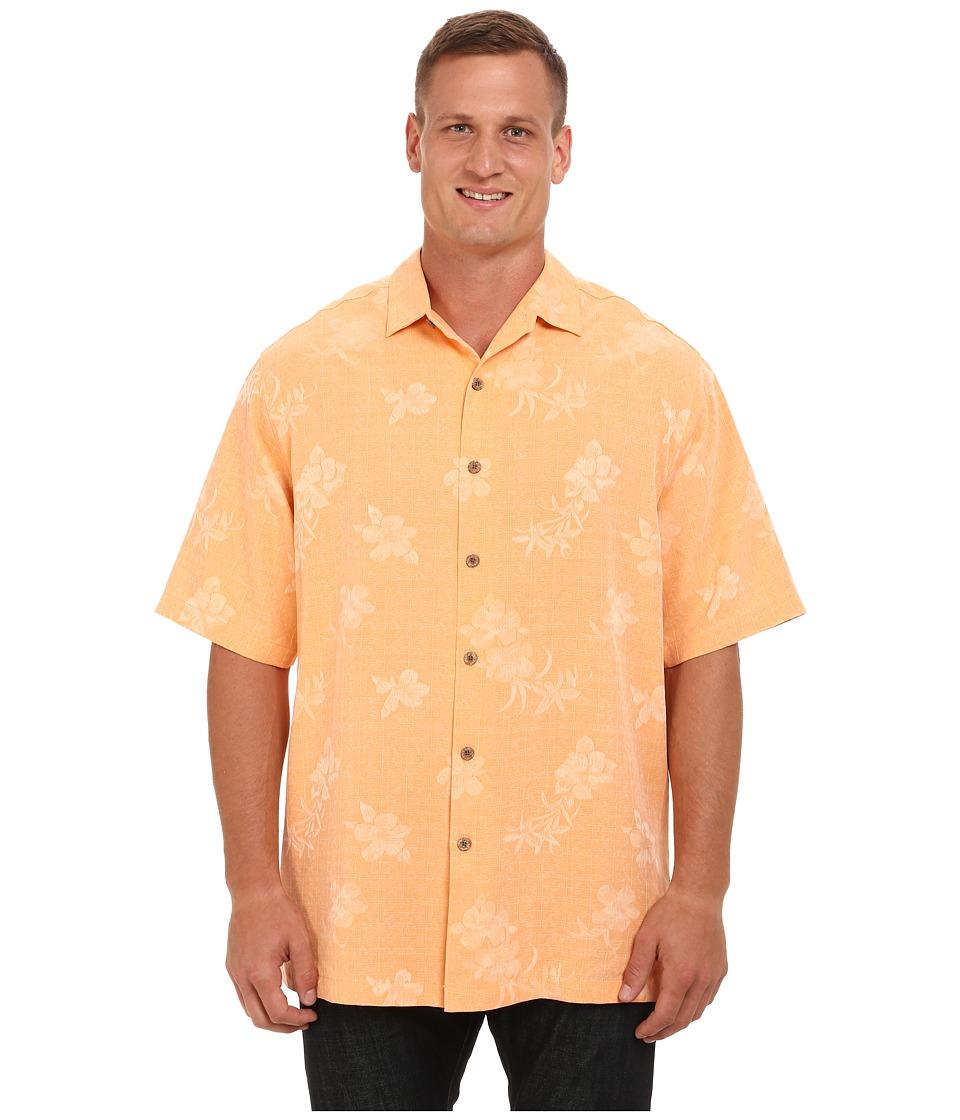 Tommy Bahama Big & Tall - Big Tall Aloha Floral Short Sleeve (Light Sizzle) Men's Clothing