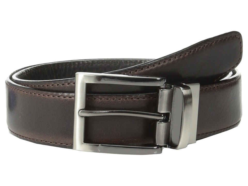 Trafalgar - Harrington (Brown/Black) Men's Belts