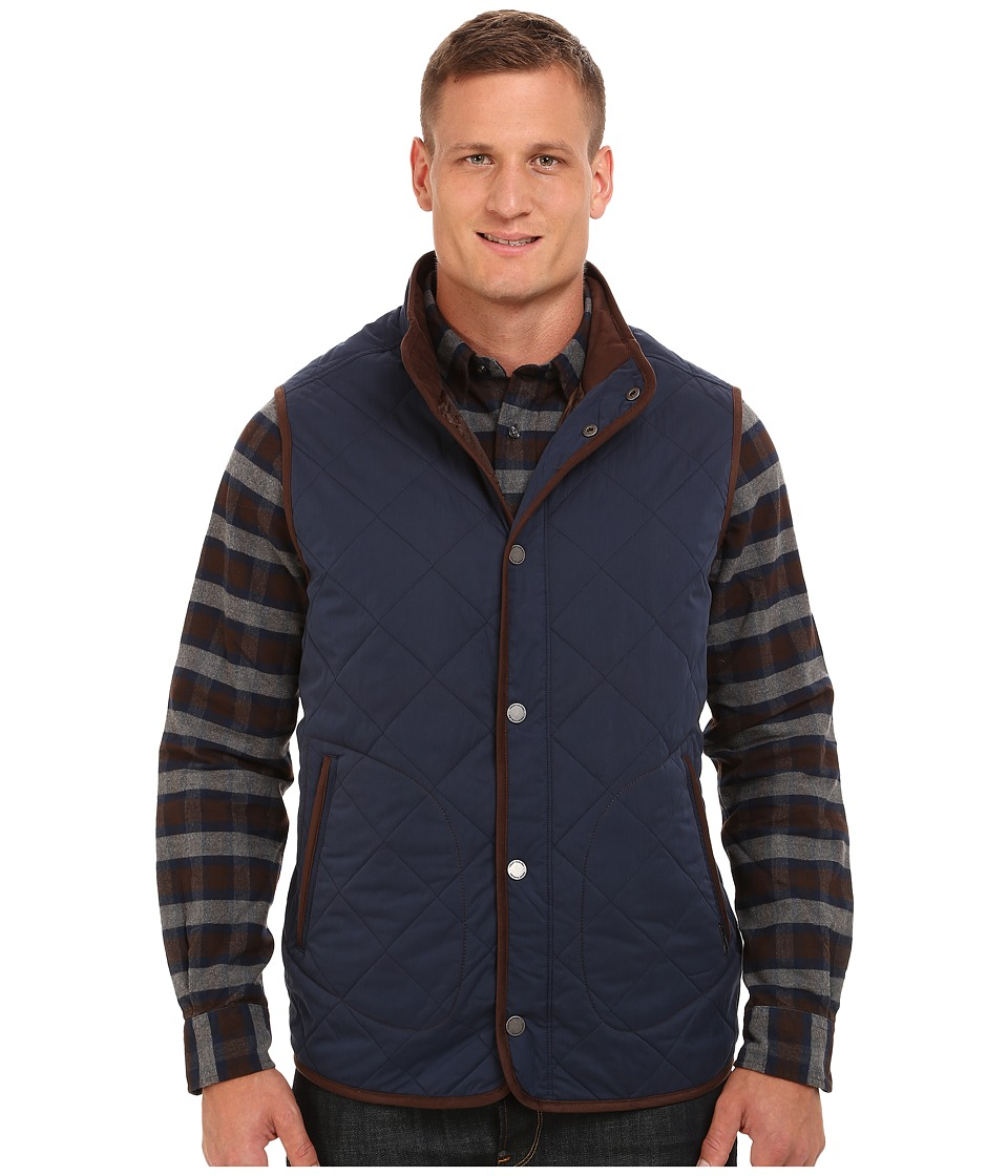 Tommy Bahama Big & Tall - Big Tall Vest Getaway (Midnight Blue) Men's Vest