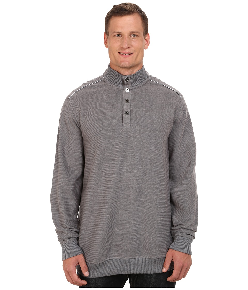 Tommy Bahama Big & Tall - Big Tall New Scrimshaw Pullover (Shadow) Men's Clothing