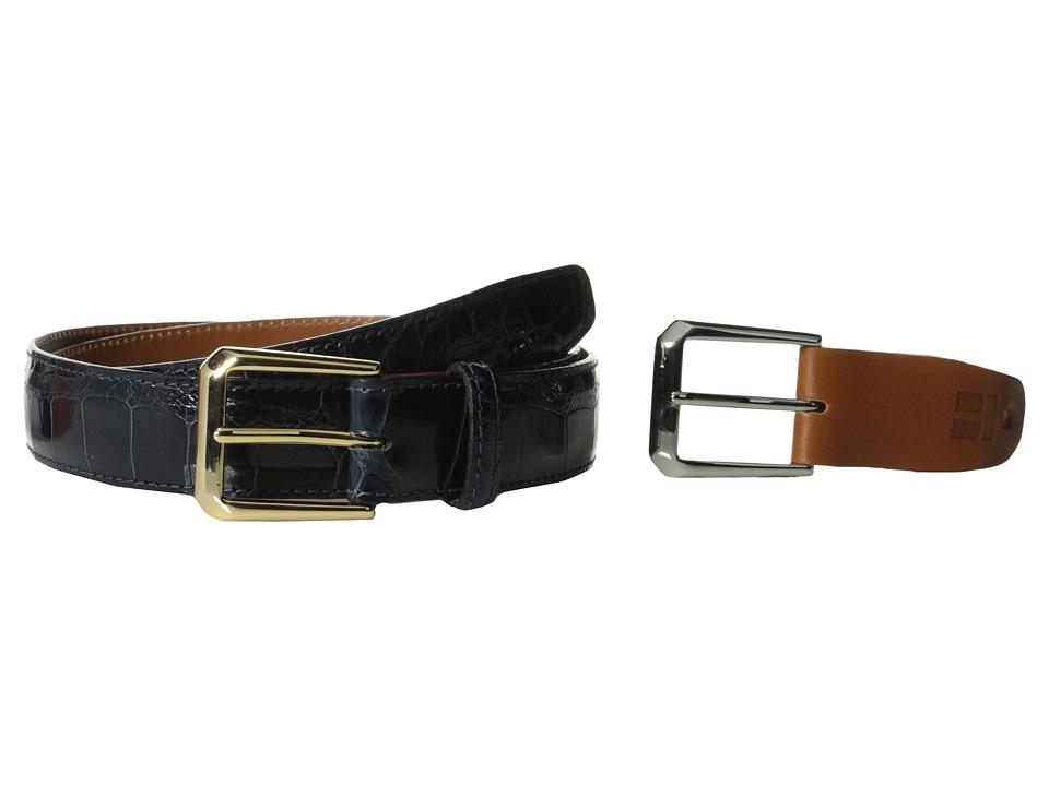 Trafalgar - Classic Alligator (Navy) Men's Belts