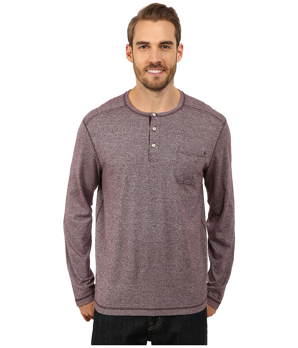Tommy Bahama - Cohen Moulinex Henley Long Sleeve (Planet) Men's Clothing