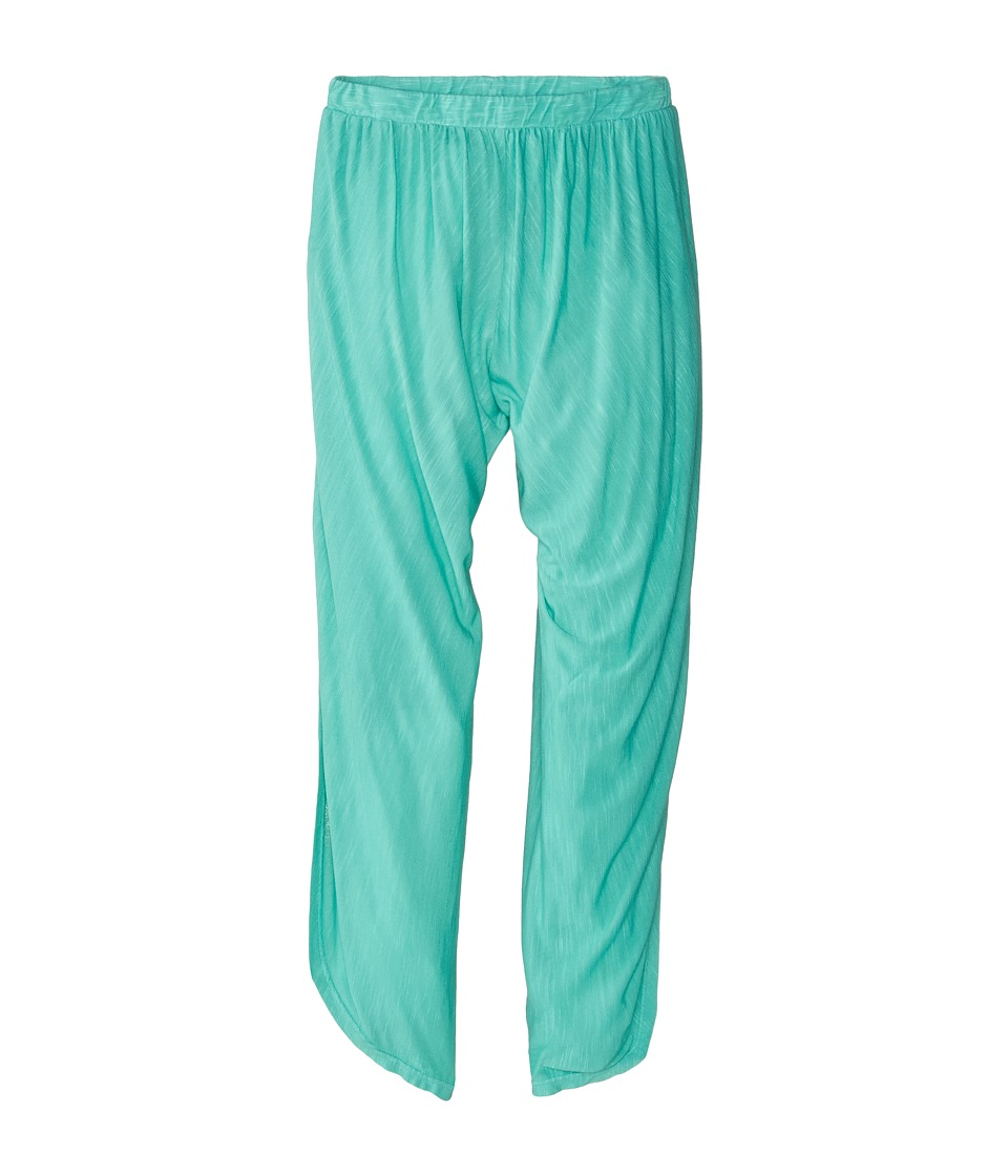 Young Fabulous & Broke Mini - Aldo Pants (Little Kids/Big Kids) (Turquoise Solid) Girl's Casual Pants