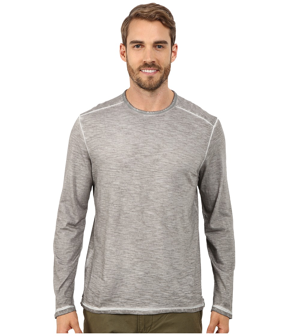 Tommy Bahama - Salerno Crew Long Sleeve (Type Writer) Men's Clothing