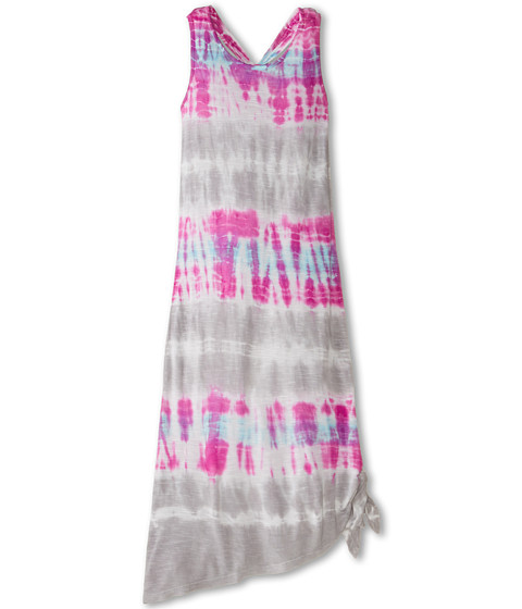 Young Fabulous & Broke Mini - Knotted Maxi (Little Kids/Big Kids) (Orchid Bamboo Wash) Girl's Dress