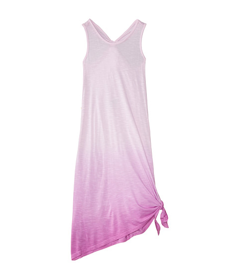 Young Fabulous & Broke Mini - Knotted Maxi (Little Kids/Big Kids) (Orchid Ombre) Girl's Dress
