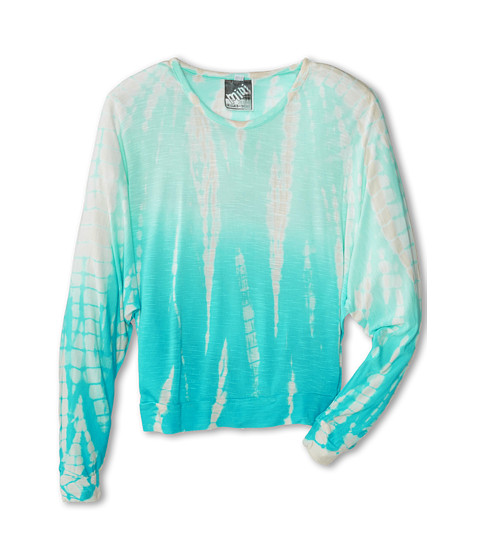 Young Fabulous & Broke Mini - Jasmin Top (Little Kids/Big Kids) (Turquoise Ombre) Girl's Clothing