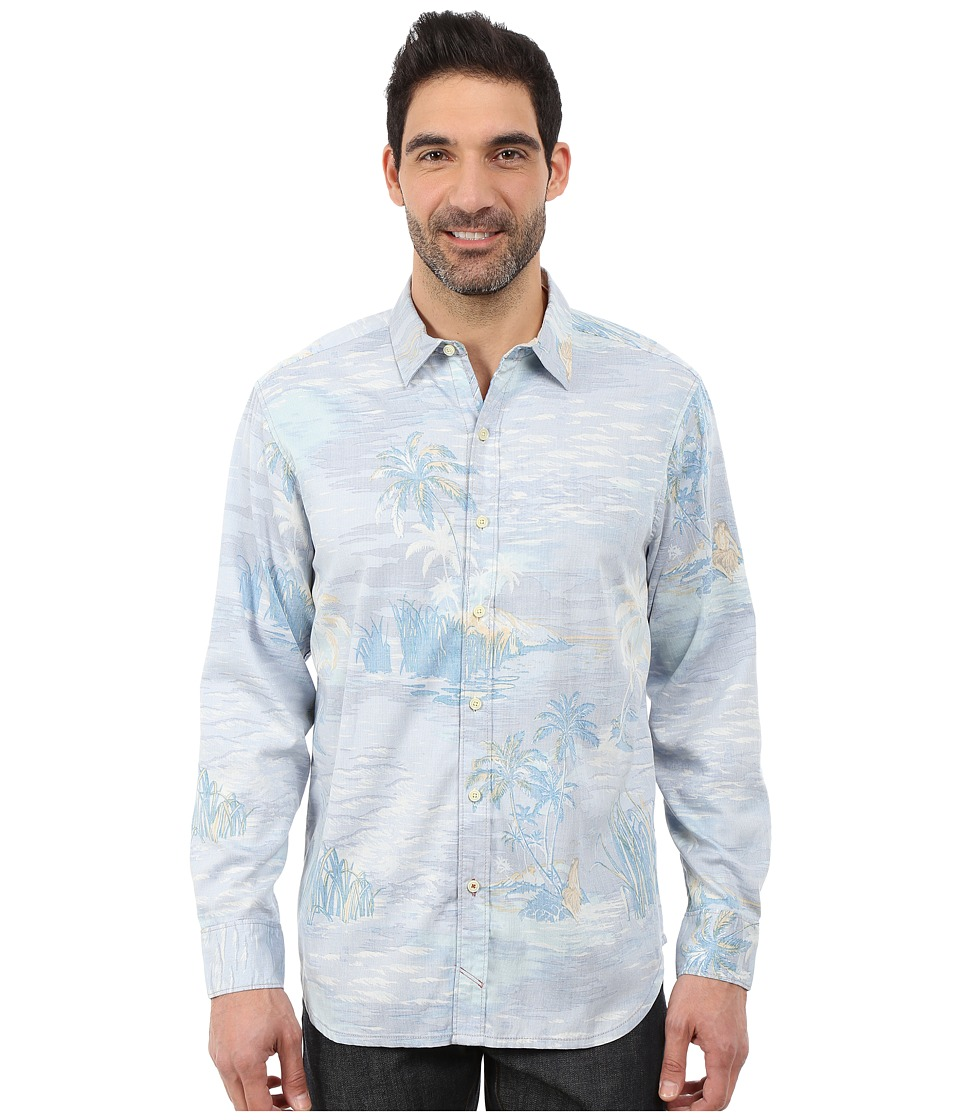 Tommy Bahama - Private Isle Cruiser Long Sleeve (Spa Blue) Men's Clothing