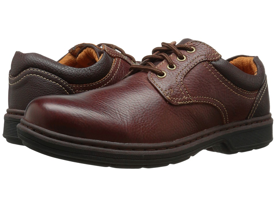 Nunn Bush - Wagner Plain Toe Oxford (Brown) Men's Plain Toe Shoes