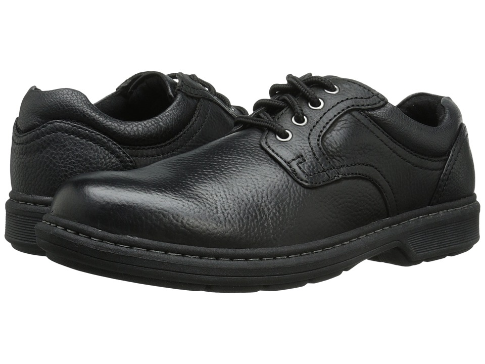 Nunn Bush - Wagner Plain Toe Oxford (Black) Men's Plain Toe Shoes