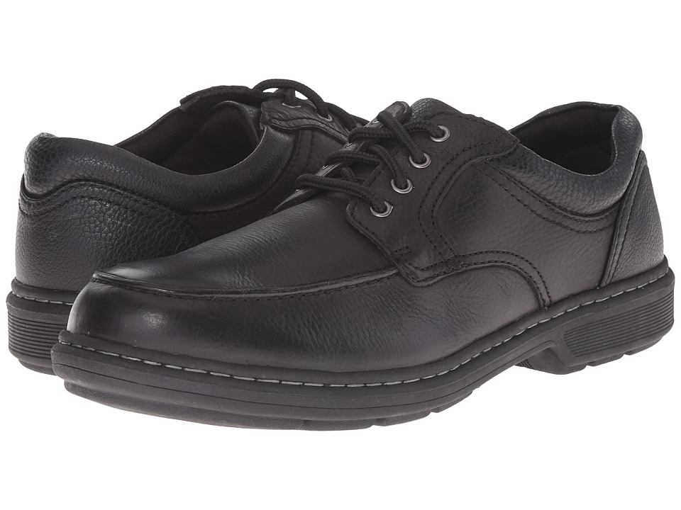 Nunn Bush Wayne Moc Toe Oxford (Black) Men