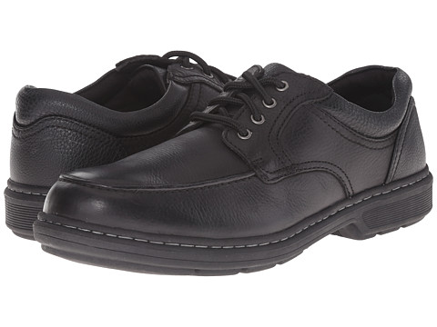 Nunn Bush - Wayne Moc Toe Oxford (Black) Men's Lace Up Moc Toe Shoes