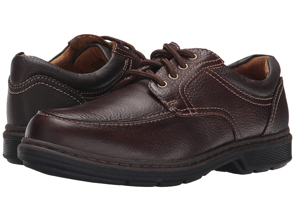 Nunn Bush - Wayne Moc Toe Oxford (Brown) Men's Lace Up Moc Toe Shoes