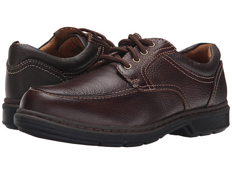 Nunn Bush - Wayne Moc Toe Oxford (Brown) Men's Lace Up Moc Toe Shoes