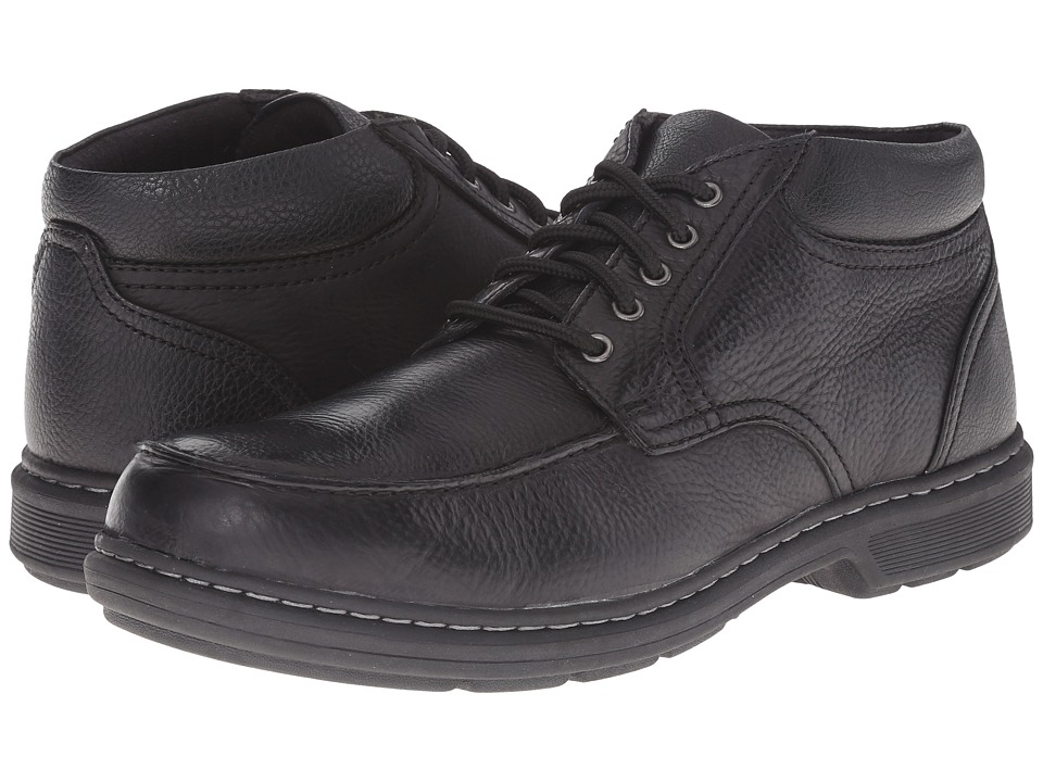 Nunn Bush Wilmot Moc Toe Boot (Black) Men