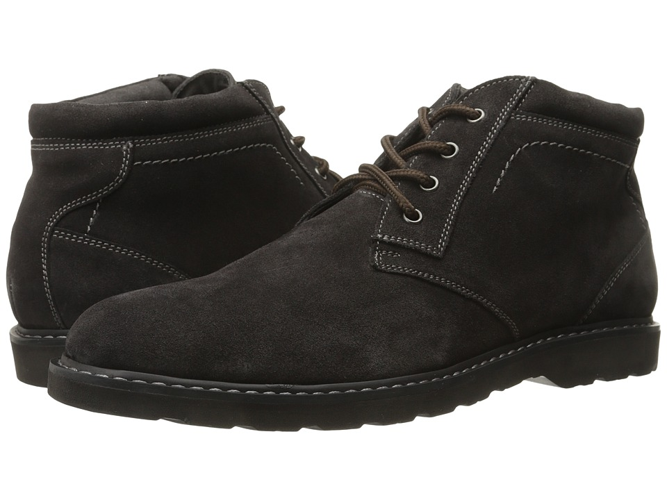 Nunn Bush - Tomah Plain Toe Chukka Boot (Brown Suede) Men's Lace-up Boots