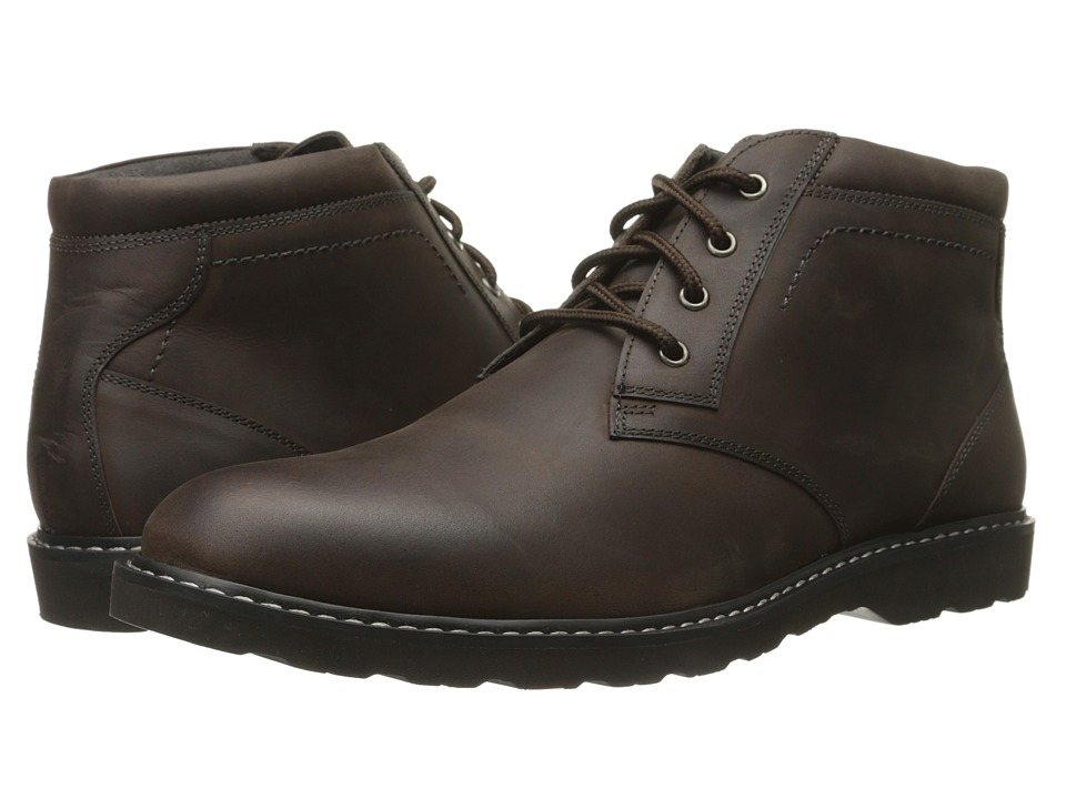 Nunn Bush - Tomah Plain Toe Chukka Boot (Brown Crazy Horse) Men's Lace-up Boots