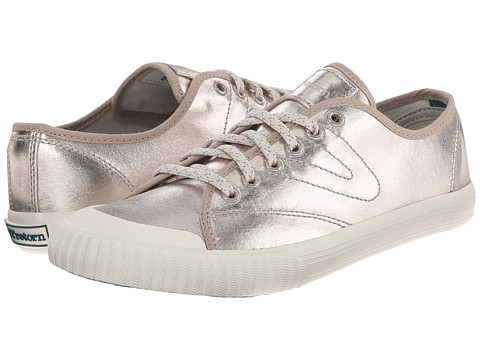 Tretorn - Tournament Metallic (Gold) Women's Lace up casual Shoes