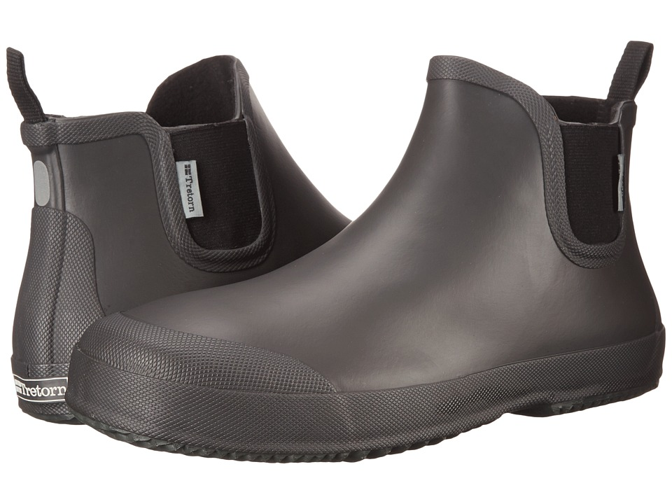 Tretorn - Bo (Grey) Men's Rain Boots