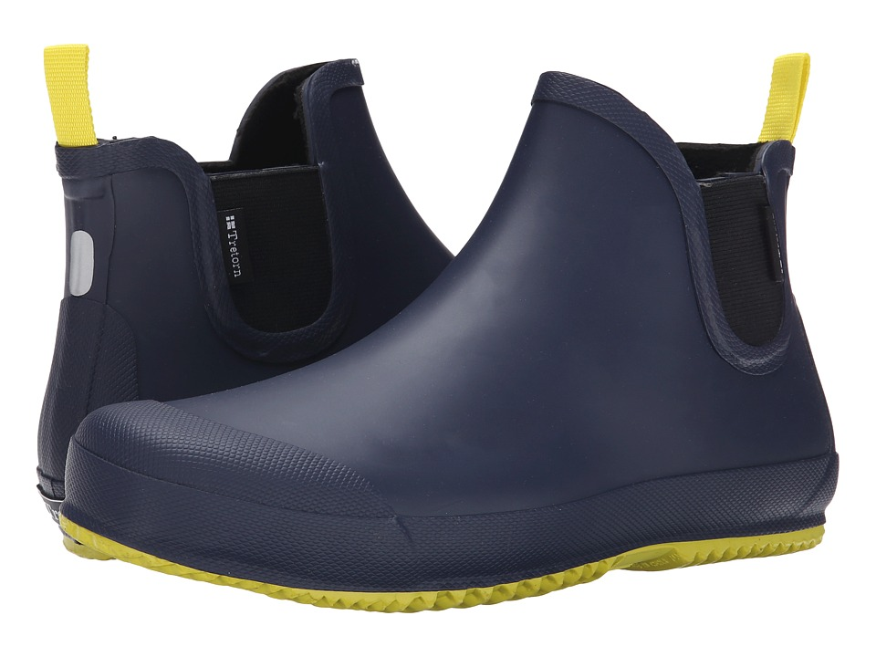 Tretorn - Bo (Navy/Yellow) Men's Rain Boots