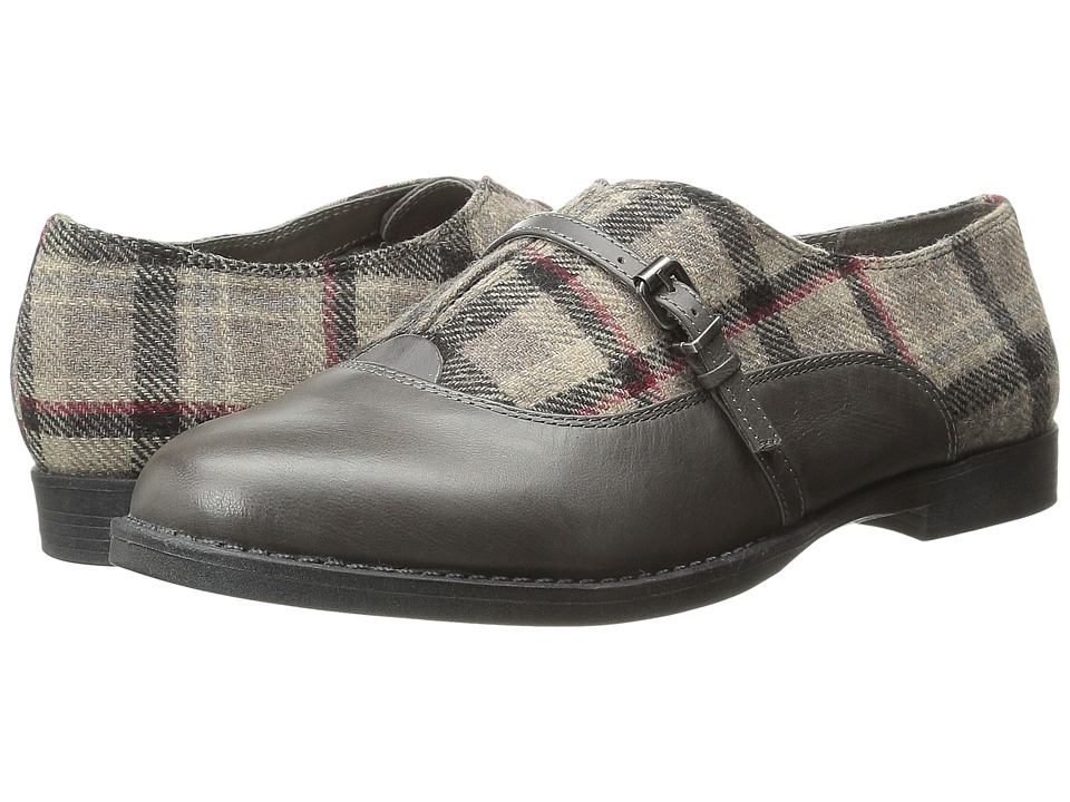 Bella-Vita Reese (Grey/Stone Plaid Flannel) Women