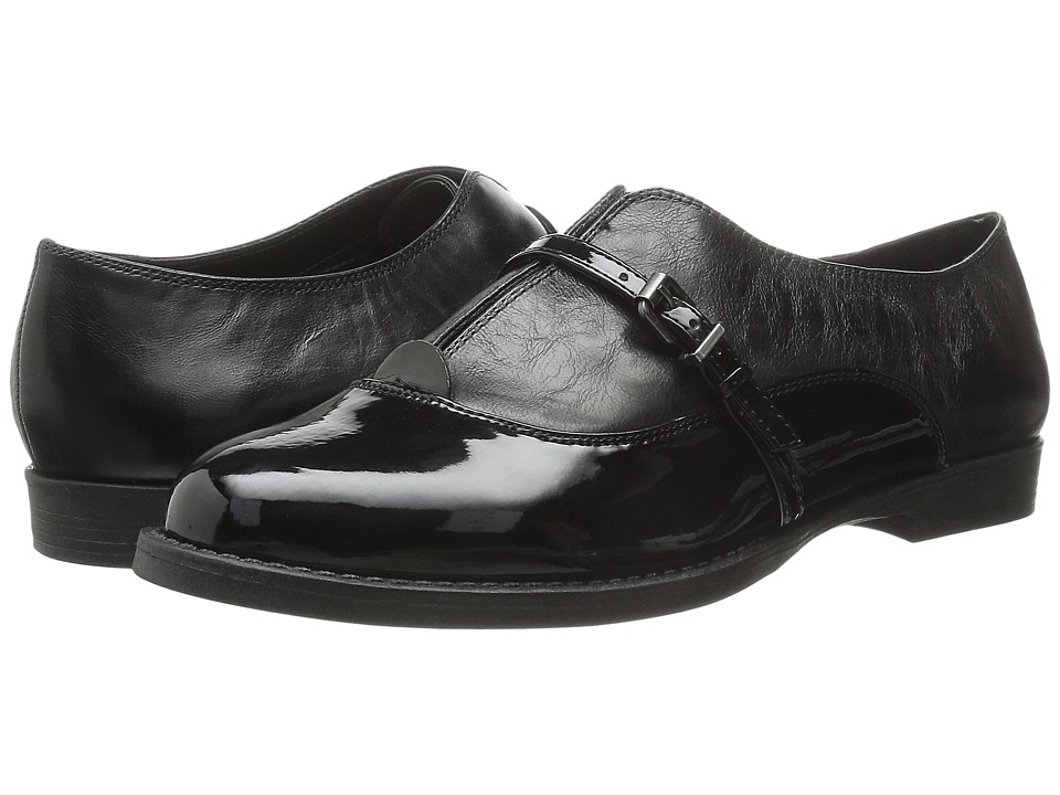 Bella-Vita - Reese (Black Patent/Black) Women's Shoes