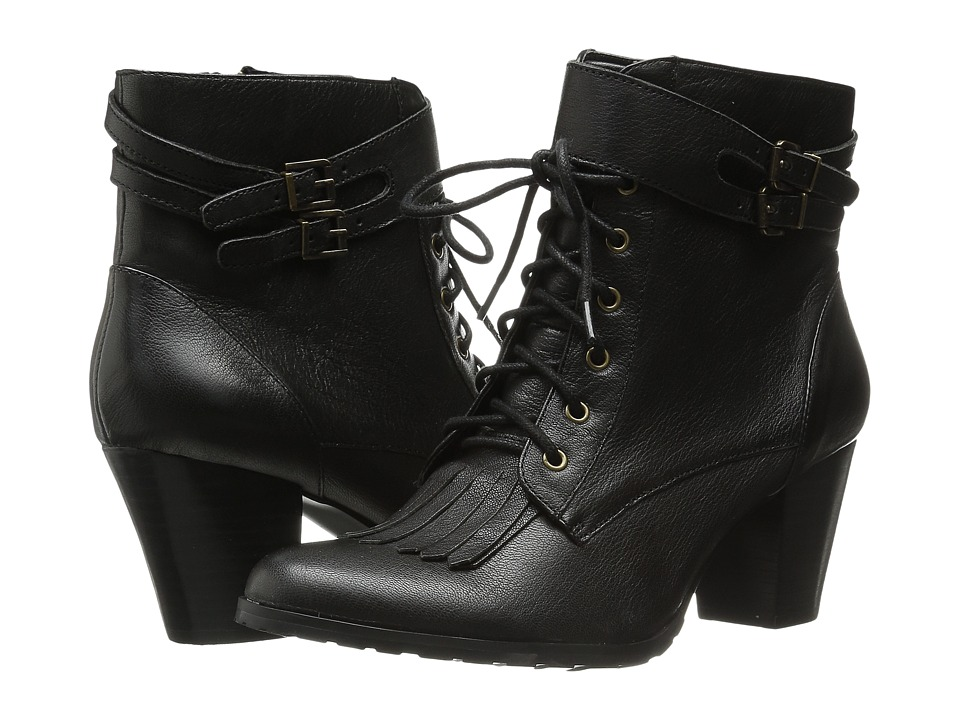 Bella-Vita - Kody (Black) Women's Dress Lace-up Boots