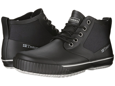 Tretorn - New Gunnar (Black) Men's Rain Boots