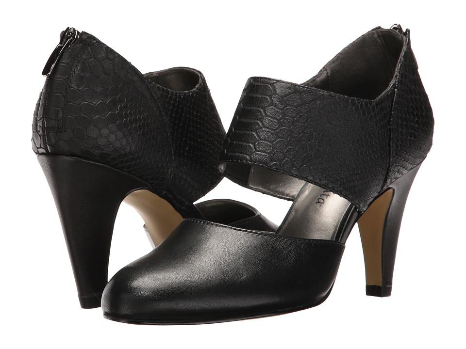 Bella-Vita - Neola (Black/Croco) High Heels