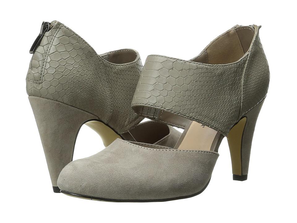 Bella-Vita - Neola (Stone Suede/Croco) High Heels