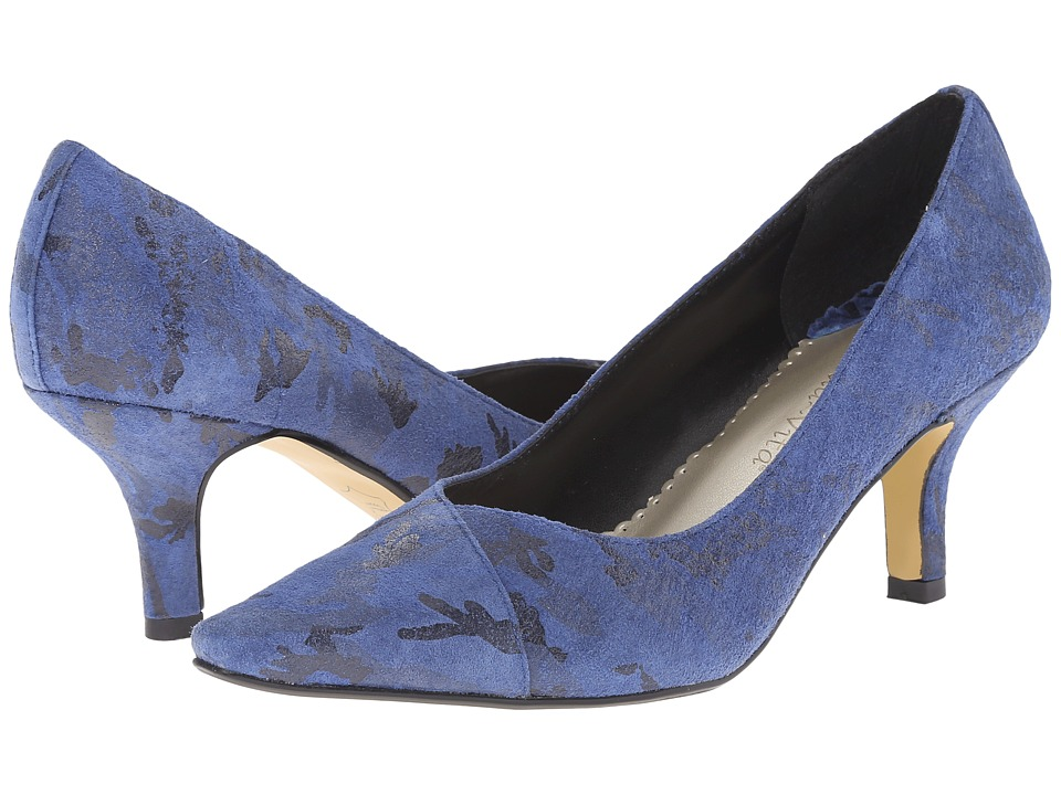 Bella-Vita - Wow (Cobalt/Black Camo) High Heels