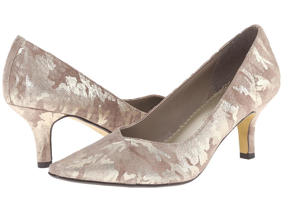 Bella-Vita - Wow (Taupe/Gold Camo) High Heels