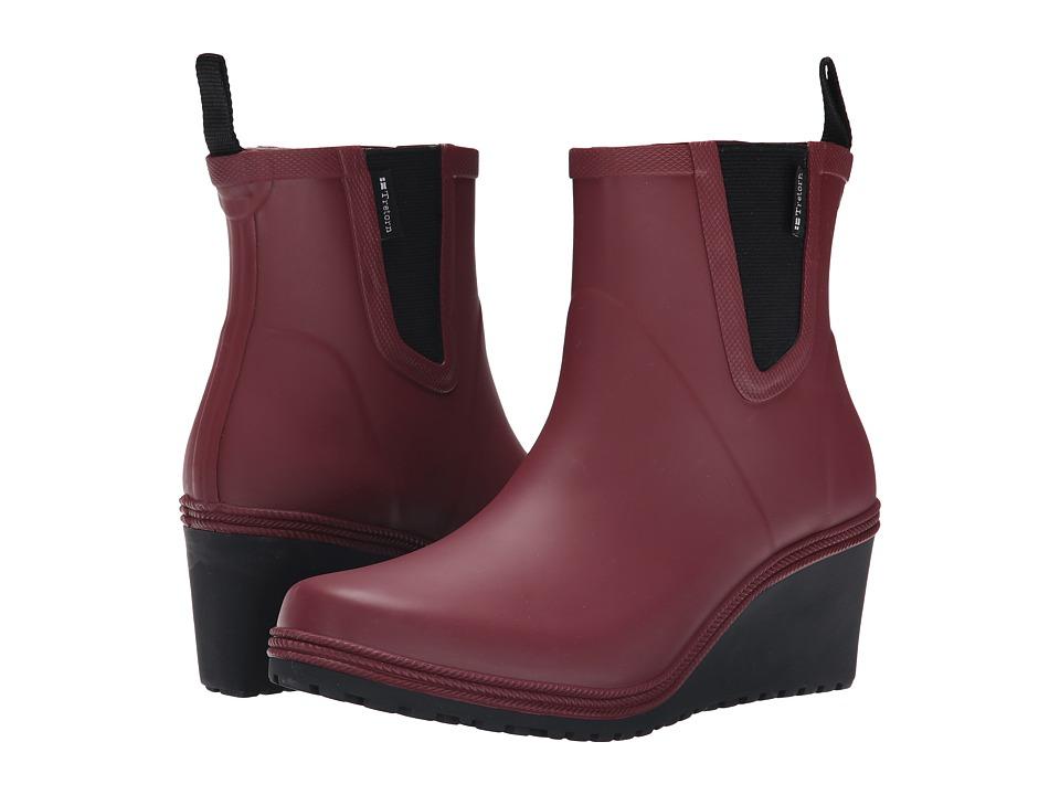Tretorn - Emma (Burgundy) Women's Rain Boots