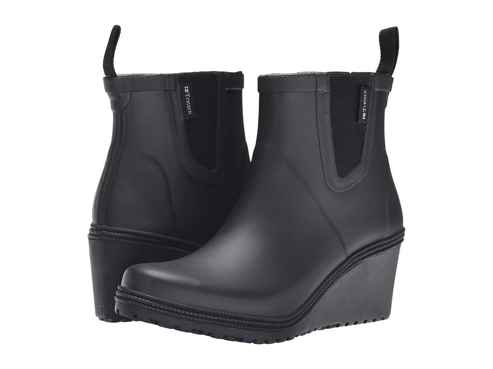 Tretorn - Emma (Black) Women's Rain Boots