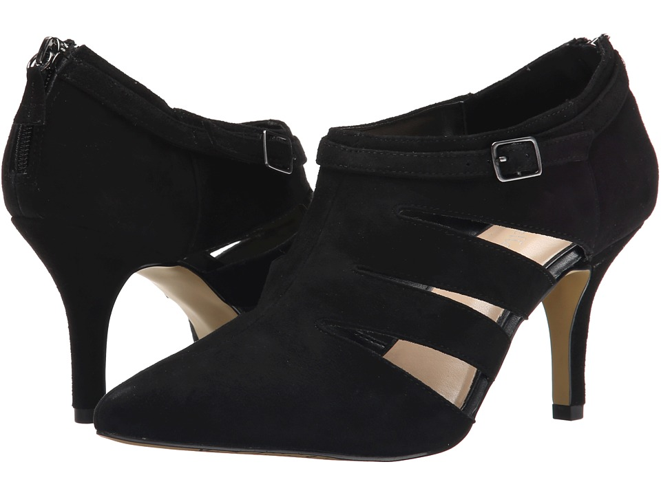Bella-Vita - Dylan (Black Suede) High Heels